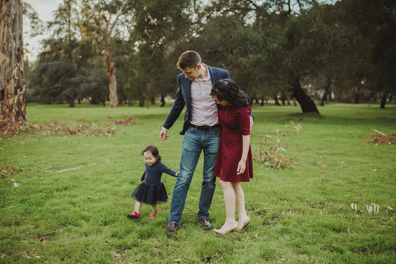 Robinson Family // Toyon Grove Palo Alto Outdoor Photography